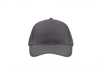 Cap S-6118 von vorne grau
